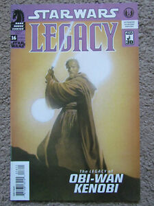 Star Wars LEGACY #16 1st Print Dark Horse Comic No. 16 NICE!