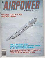 Airpower Magazine September 1979 Curtiss Shrike, Luftwaffe / Airplane Magazine