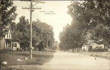 Campton NH Lower Village c1910 Real Photo Postcard