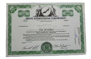 1967 World Explorers/Sportmen's Club Stock Certificate #C1462