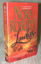 LAWLESS by Nora Roberts 1989 Historical Frontier Romance XCLNT PB MINTY