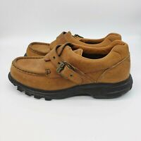 Ralph Lauren Polo Sport Mens Size 8.5 B Brown Leather Hiking Shoes WB4194