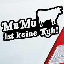 Voiture Autocollant Zézette n'est pas une vache! Cow village Sticker Désir Couleur DUB OEM JDM 502