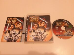 STAR WARS THE CLONE WARS REPUBLIC HEROES PS3 PLAYSTATION 3 PREOWNED