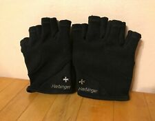 HARBINGER Fitness 1/2 Finger Gloves Adult Men/Women Size Small S Black Power