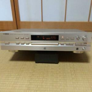 YAMAHA CDR-S1000 CD Recorder Silver Used