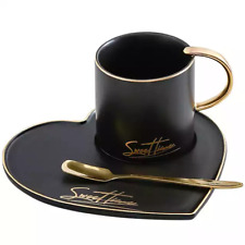 3 Piece Ceramic Tea/Coffee Set Sweet Time