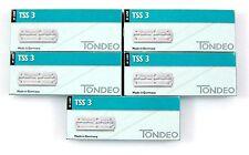 TONDEO 5 x 10 lange Blades TSS 3 für Razor Styling Shaper