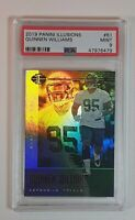 Quinnen Williams 2019 Panini Illusions Rookie Card RC #61 PSA 9 LOW PSA POP!