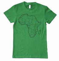 AFRICA Unisex Adult T-Shirt Tee Top