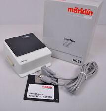 Märklin Digital 6051 Interfaz Con Demo Disquete / como Nuevo / Emb.orig
