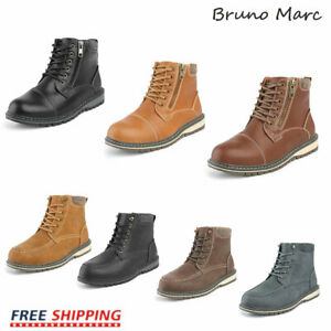 Bruno Marc Boys Kids Fashion Boots Winter Ankle Boots Riding Boots Hiking Boots