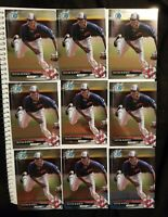 2017 Bowman Chrome Triston McKenzie Rookie Card Lot #BCP-118 Cleveland Indians
