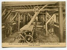 CPA - Carte Postale - Belgique - SA des Moulins à Vapeur et Brasserie