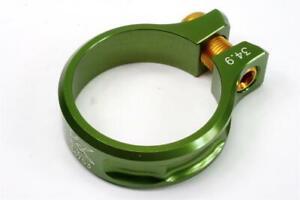 KCNC SC11 Screw Seatpost Clamp Green 34.9mm