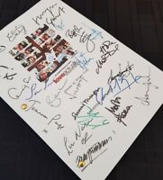 Love Actually Film Script Signatures Autograph Reprint Andrew Lincoln Hugh Grant