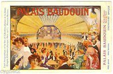 POSTCARD BELGIAN 1913 PALAIS BAUDOUIN DANCE HALL