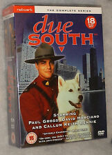 Due South COMPLETO TEMPORADA 1 , 2 , 3-18 DVD Box Set - Nuevo y sin abrir