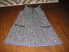 BOUTIQUE EURO ZARA KIDS 9-10 140 LACK WHITE GRAY  DRESS