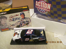 1998 Rusty Wallace #2 Miller / Elvis Limited Edition 1:24 Scale B/W Bank