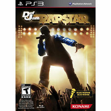 Def Jam Rapstar Bundle Game + Microphone PS3 Konami NEW