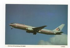 American Airlines Boeing 767-300ER Aviation Postcard, A658