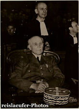 Philippe Pétain, French General, Original Photo, 1951