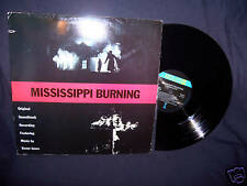 MISSISSIPPI BURNING 1989 PROMO SOUNDTRACK VINYL LP TREVOR JONES N MINT!