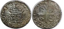 HENRI III.  AU NOM DE CHARLES IX Douzain du Dauphiné 1575 RARE!!!