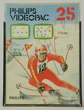 Philips Videopac Game / jeu - N° 25 - Skiing - Complete with Box