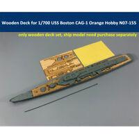 Wooden Deck for 1/700 Scale USS Boston CAG-1 Orange Hobby N07-155 Model Kit