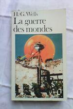 La guerre des Mondes de H-G Wells.