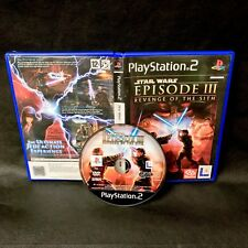 PS2 Star Wars Episode III (3) Revenge Of The Sith PlayStation 2 Game PAL 12+