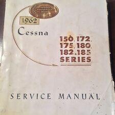 1962 Cessna 150, 172, 175, 180, 182 & 185 Service Manual