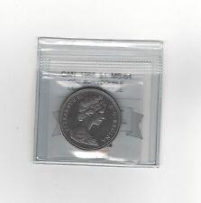 **1968 Obv.#601 Dbl Legend**Coin Mart Graded, Canadian, Dollar, **MS-64**