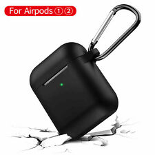 AirPods Silicone Case 1&2 | Shockproof Cover Protective Cover Case Charging Case
