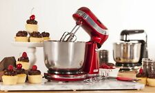 Kitchen Electric Food Stand Mixer with 6 Speed Stainless Steel Bowl and Hooks