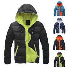 Sudadera para Hombre Burbuja Abrigo Acolchado Chaqueta Invierno Cálido Zipper