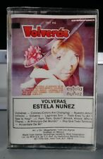 Estela Nunez~Volveras~Cassette Tape- Latin Vocal Pop~Spanish~Brand New Nuevo