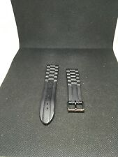 75aaa6ce2654e Marc Jacobs MBM5502 Rubber Black Bracelet Watch Band 22mm I513