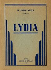1958 Lydia roman érotique clandestin illustré 12 illustrations en noir rare