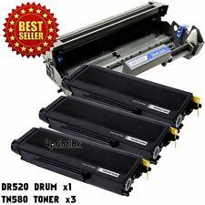 DR520 Drum  TN580 Toner Cartridge For Brother HL-5240 HL-5250 MFC-8460N 8660DN