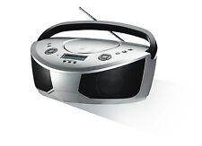 Grundig RCD 5050 schwarz/silber CD-Player UKW-Radio MP3 USB SD-Karte