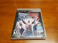 WWE SmackDown vs. Raw 2011 (Sony PlayStation 3, 2010) PS3 CIB Complete TESTED