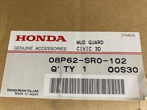 NEW OEM HONDA 92-95 CIVIC 3 DOOR HATCHBACK EG EG9  MUD FLAPS SPLASH GUARDS SR0