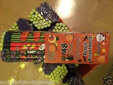 TOTAL LIQUIDATION!! LOT OF 1,536 HaLLowEEn PENCILS - brand new - sealed packages