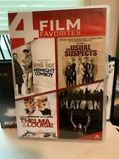 Midnight Cowboy/The Usual Suspects/Thelma & Louise/Platoon (Dvd, 2014, 4-Disc.
