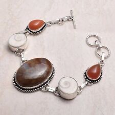 Jewelry 25 Gms Ab 71433 Agate Carnelian Ethnic Handmade Bracelet