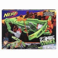 Hasbro NERF Zombie Striker Outbreaker Armbrust mit Rotationstrommel für 5 Darts