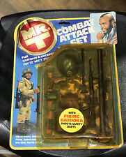 Galoob 1983 Combat Attack Set Mr. T Full Uniform 12-inch Figure MOC